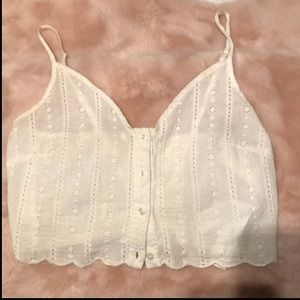 New White Bustier style top